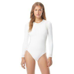 Michael Kors 1 PC Long Sleeve Swimsuit Rashguard
